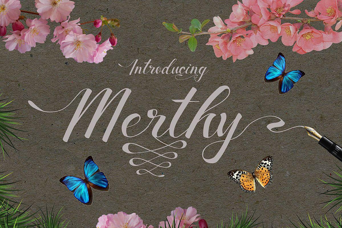 Merthy Script example image 1