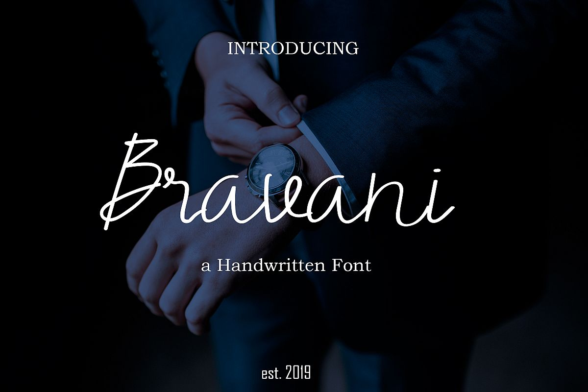 Bravani Font example image 1