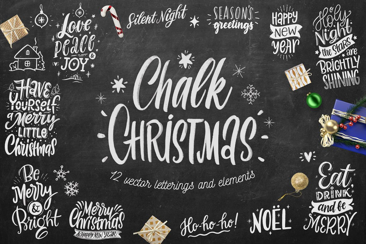 Chalk Christmas example image 1