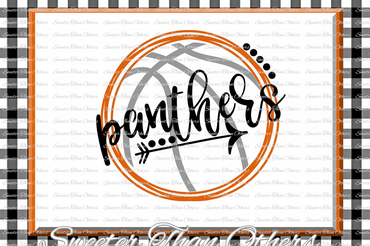 Basketball SVG, Panthers svg, Panthers Basketball svg