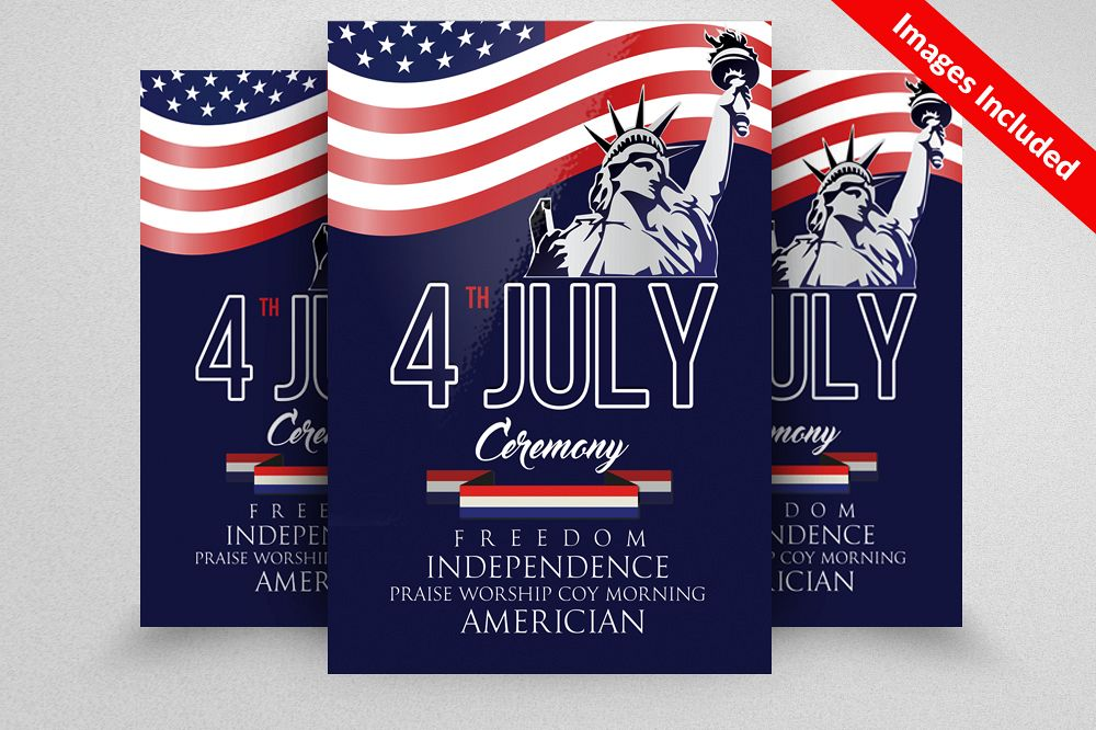 american independence day flyer example image 1