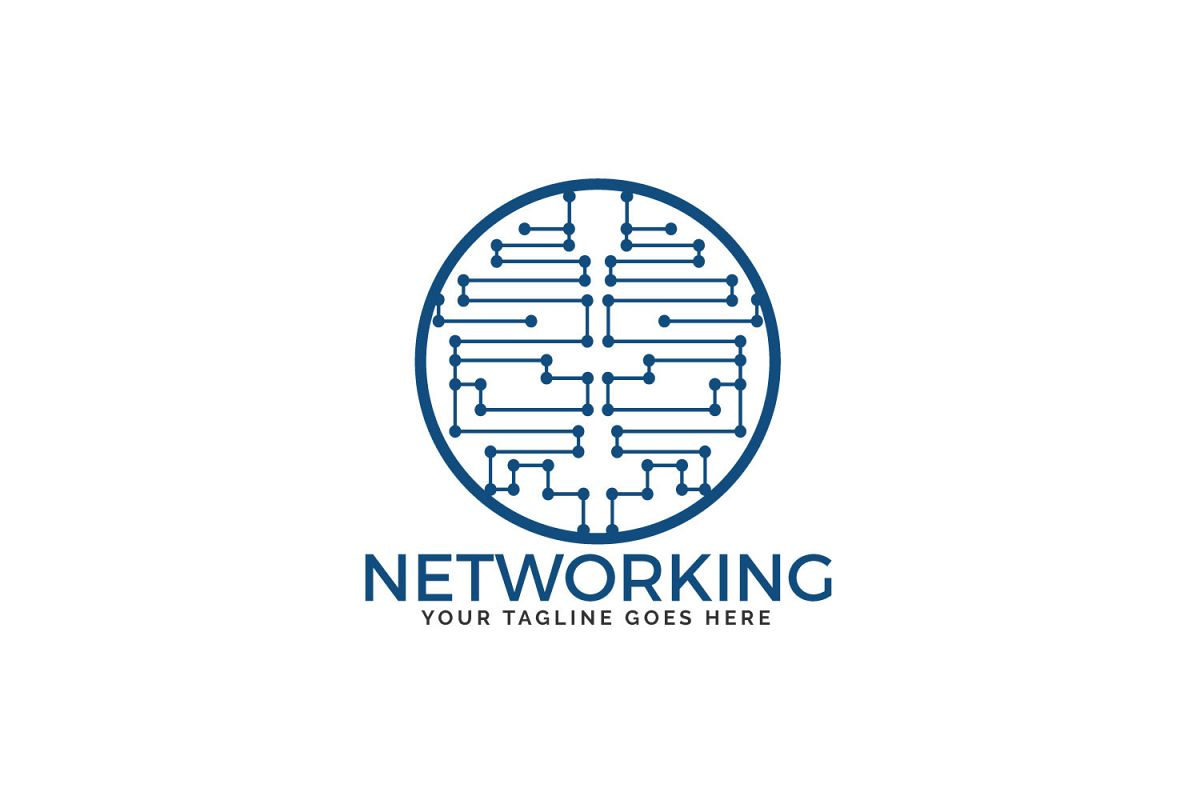 Networking Logo Design. example image 1