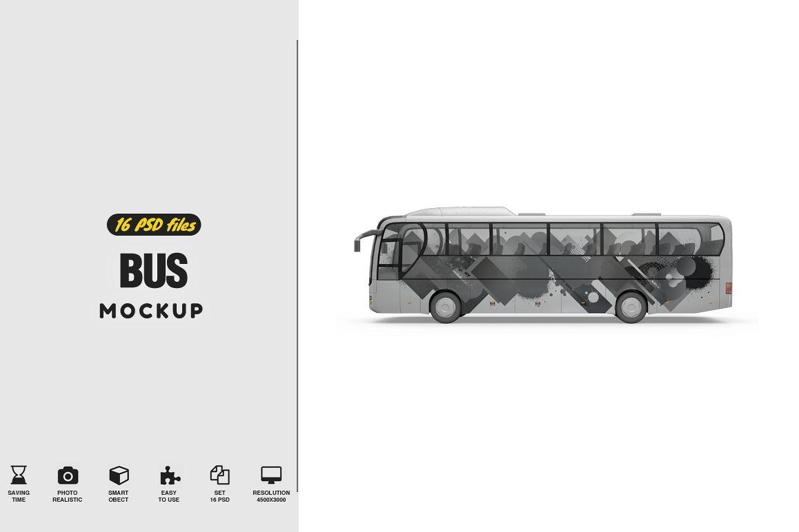 Bus Mockup example image 1