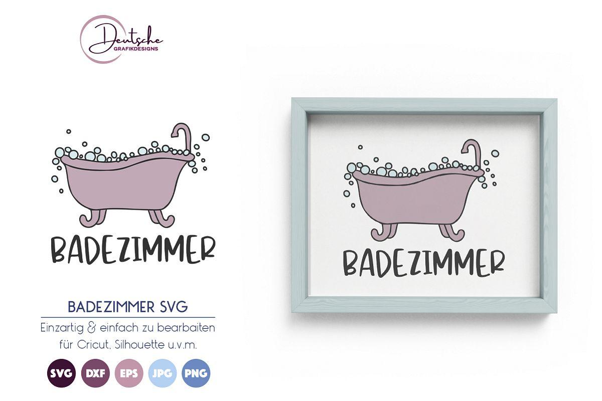 Badezimmer SVG example image 1