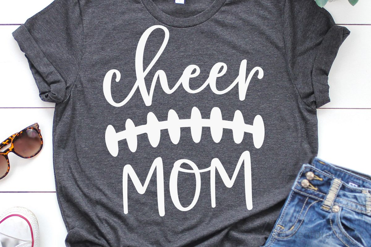 Cheer Mom SVG, DXF, PNG, EPS example image 1