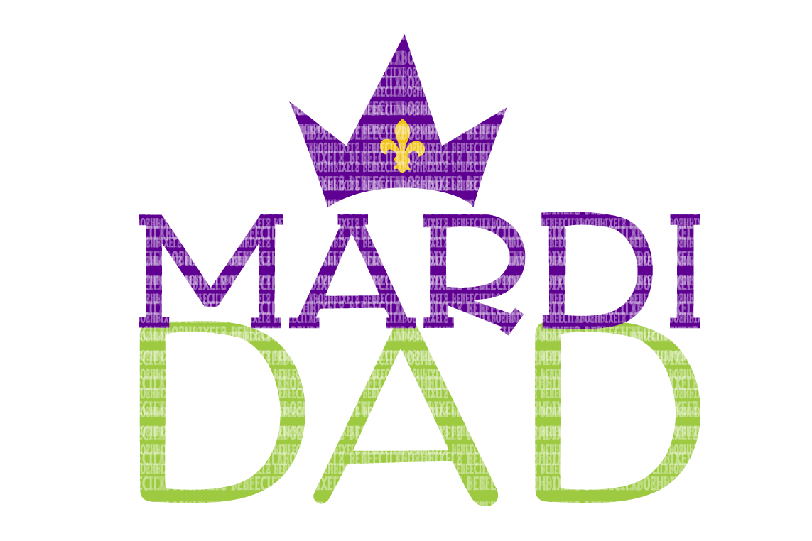 Mardi Dad SVG Files Printable Clipart Silhouette SVG for Circuit Designs SVG Cut Files Iron On Templates Digital Scrapbooking  example image 1