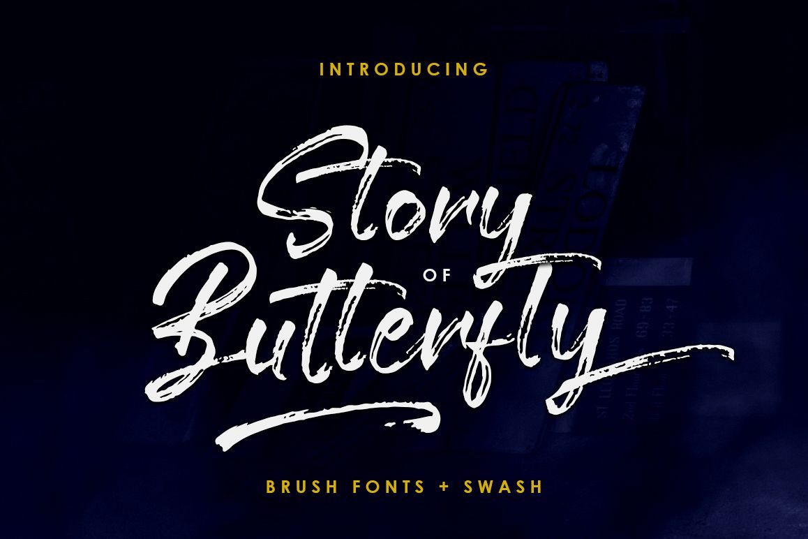 Story of Butterfly + Swash example image 1