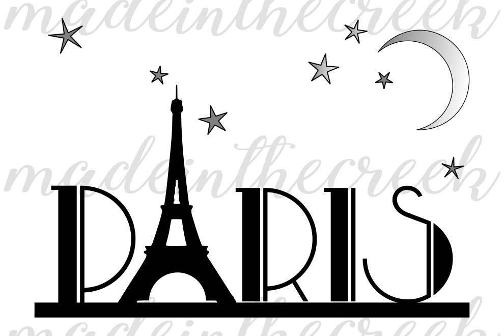 Paris Travel Country Eiffel Tower Love Quotes Sayings Apparel