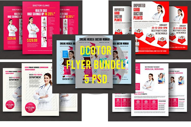 Doctor bundle psd 5 example image 1