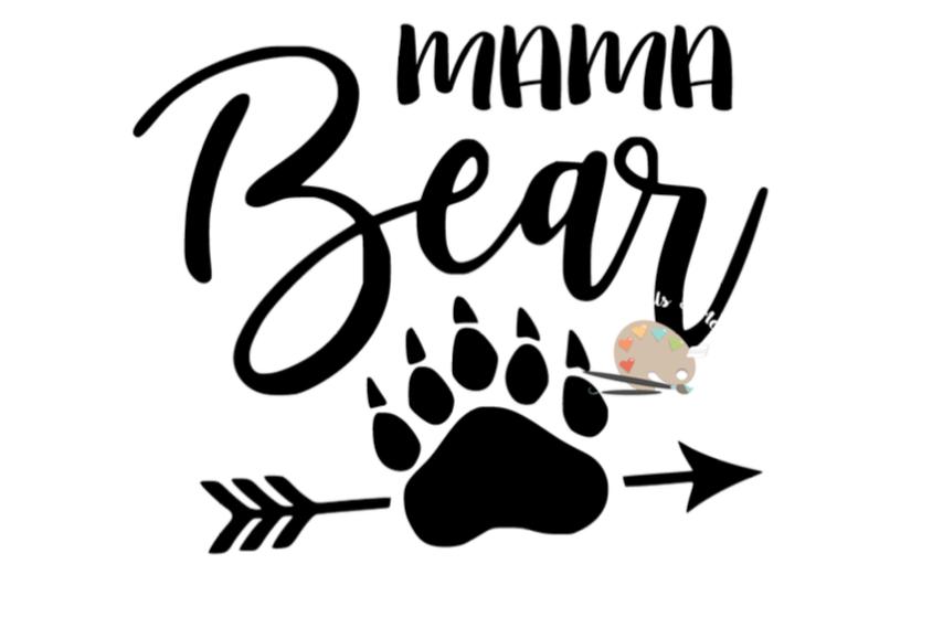 Mama Bear Svg Claw Arrow Png Jpg Diy Mommy For