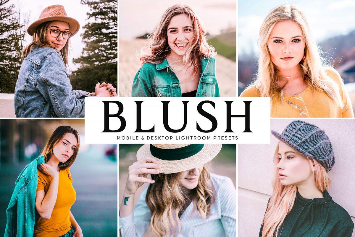 Blush Mobile & Desktop Lightroom Presets example image 1