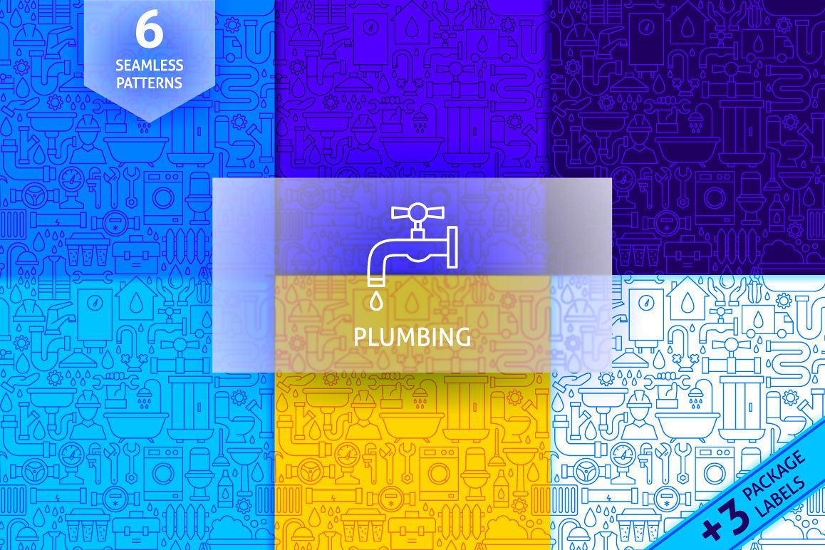 Plumbing Line Tile Patterns example image 1