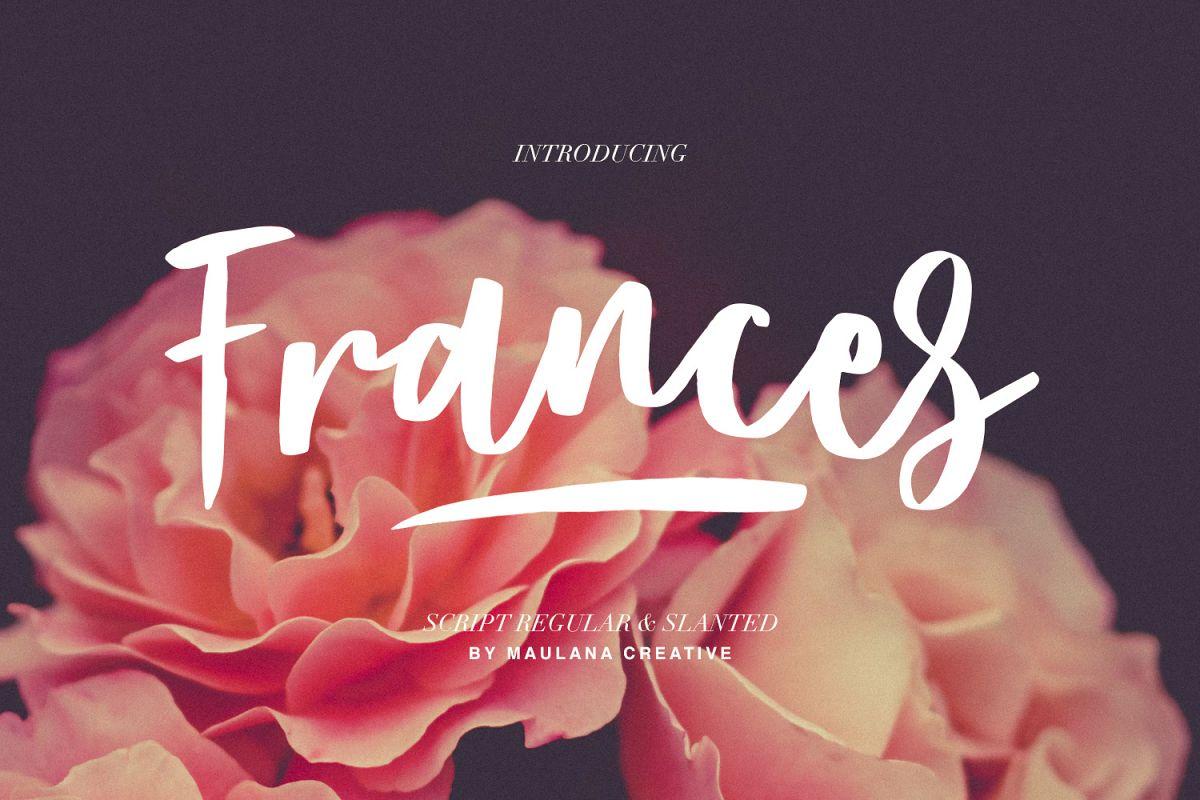 Frances Modern Font example image 1