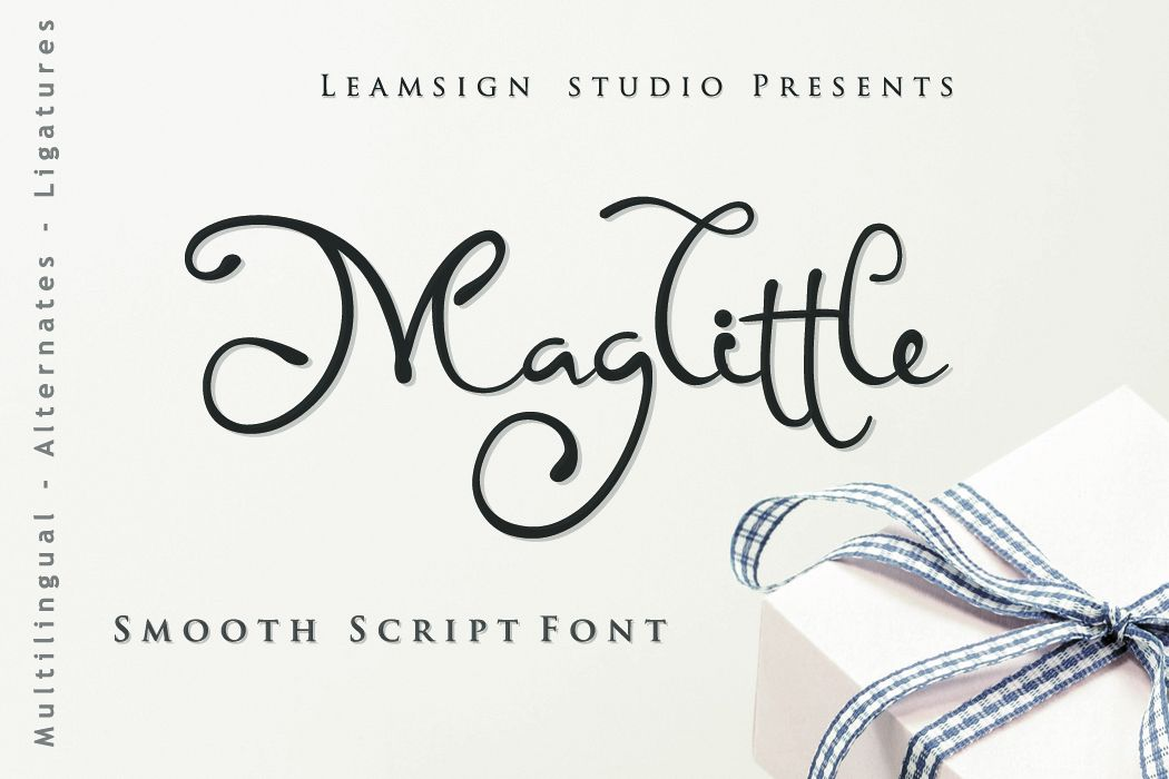 Maglittle Font example image 1