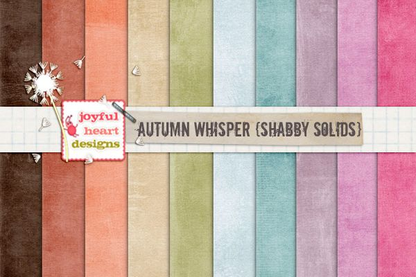 Autumn Whispers {shabby solids} example image 1
