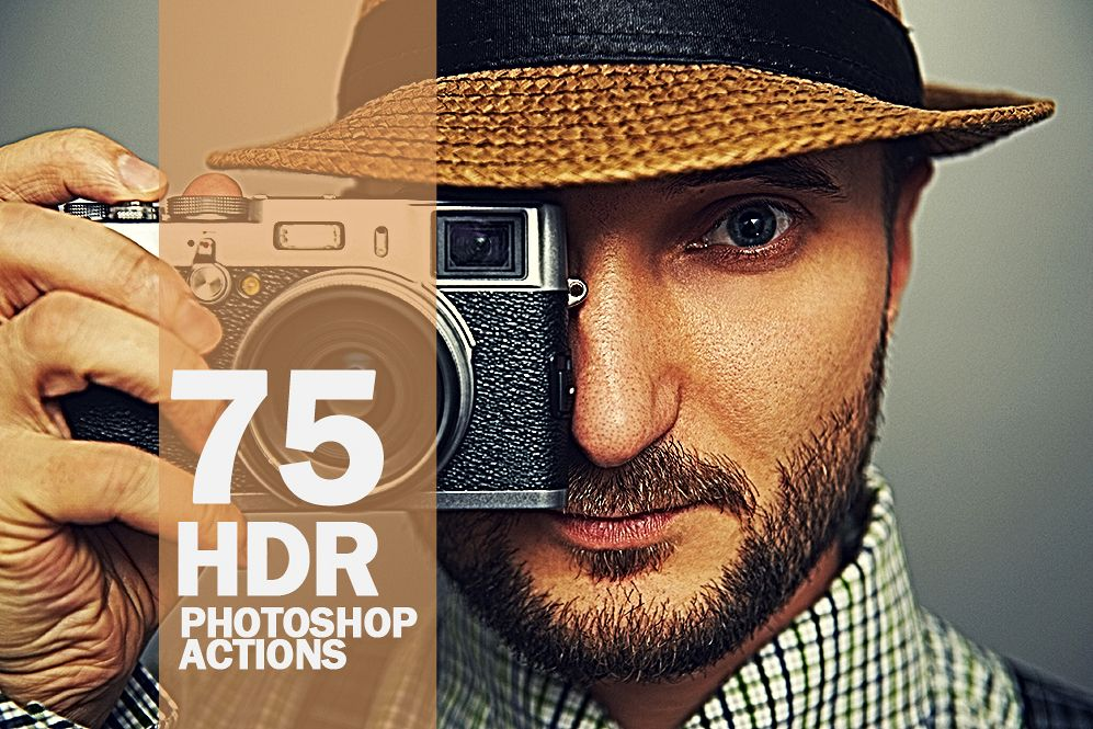 75 HDR Photoshop Actions Collection (Action for photoshop CS5,CS6,CC) example image 1