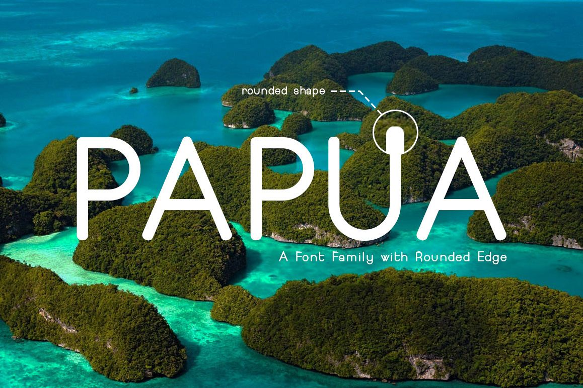 Papua Font example image 1
