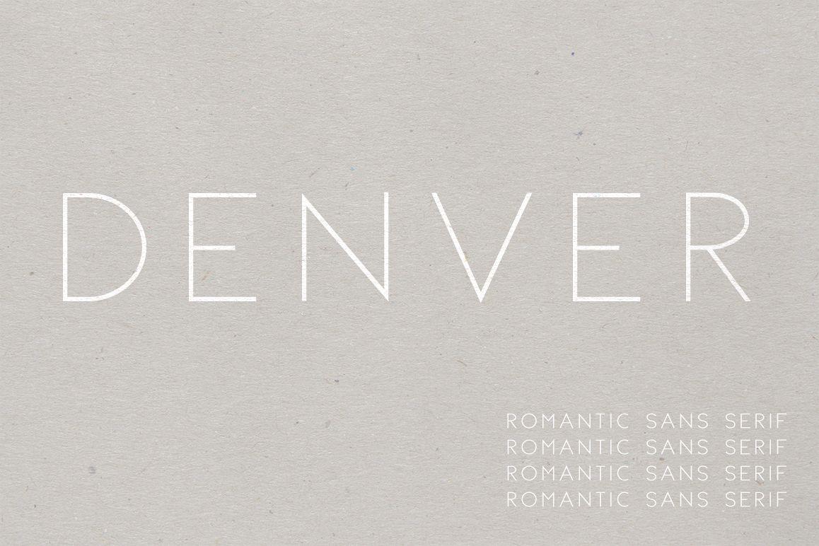 Denver | A Romantic Sans Serif example image 1