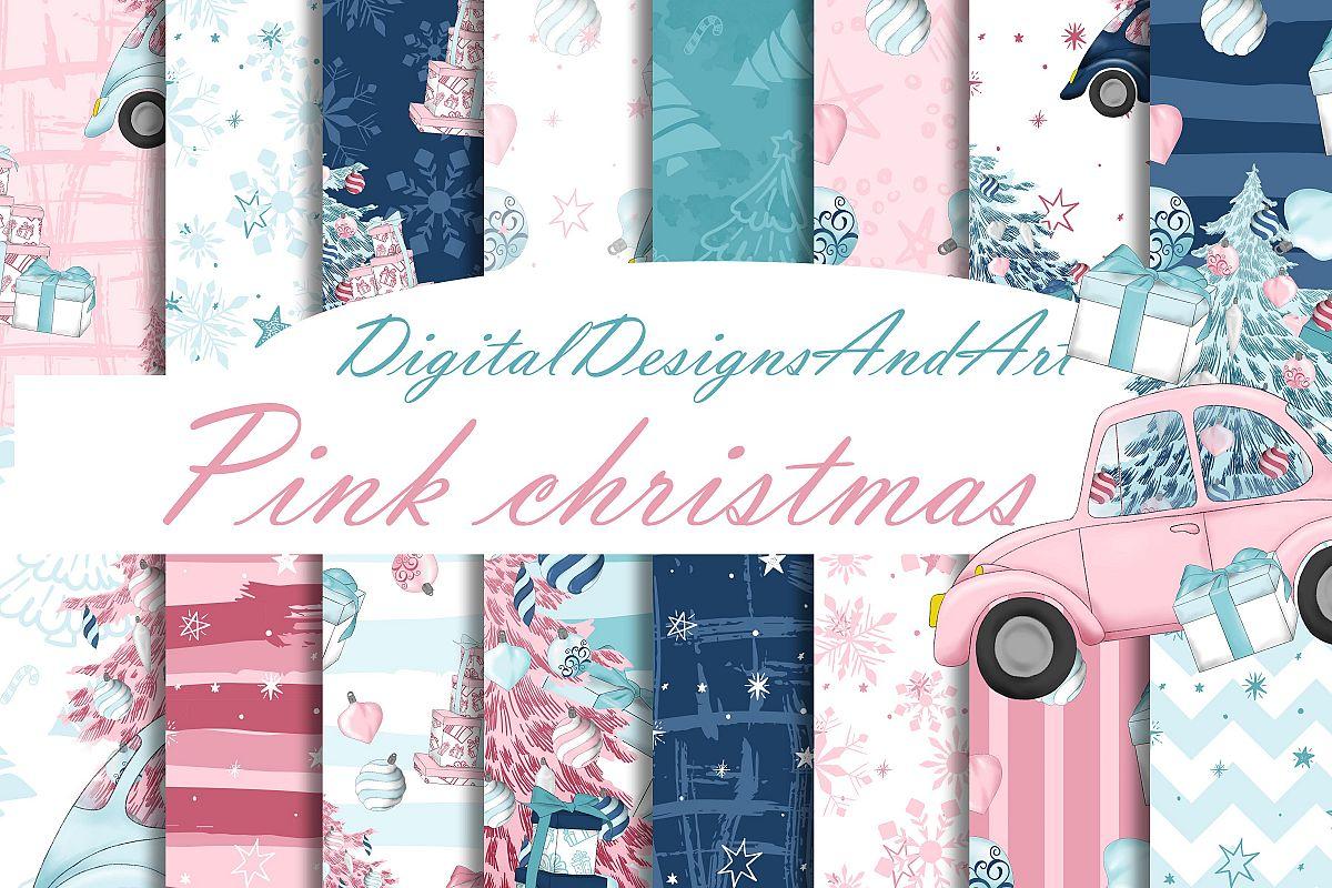 Pink christmas example image 1