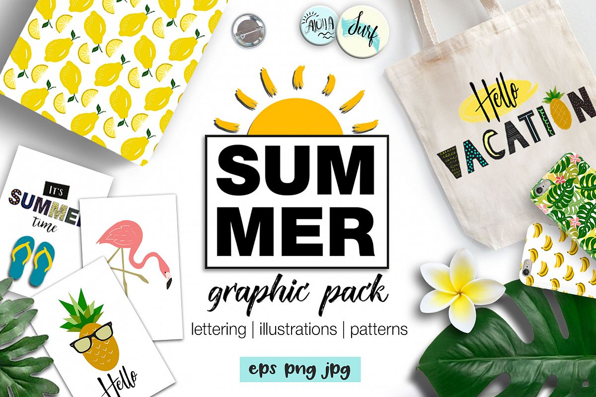 SUMMER graphic pack example image 1