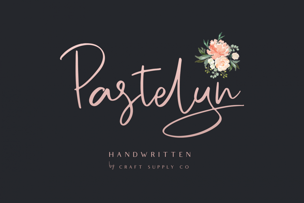 Pastelyn - Handwritten Font example image 1