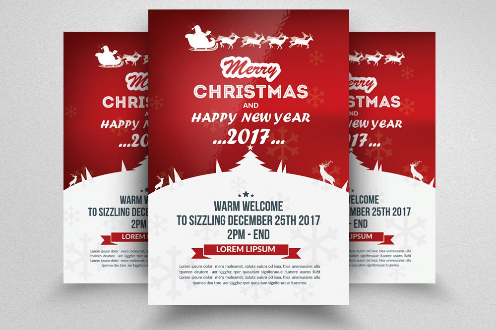 Christmas Flyer.Marry Christmas Flyer