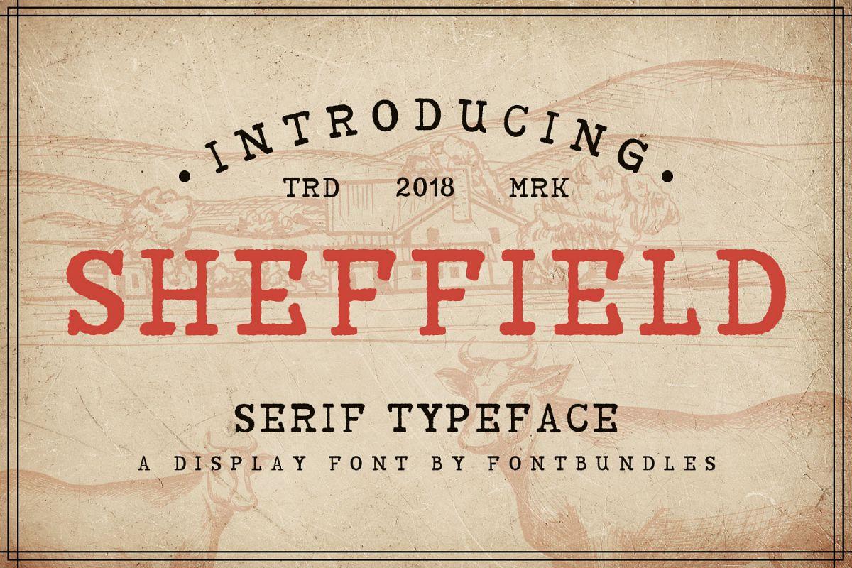 Sheffield example image 1
