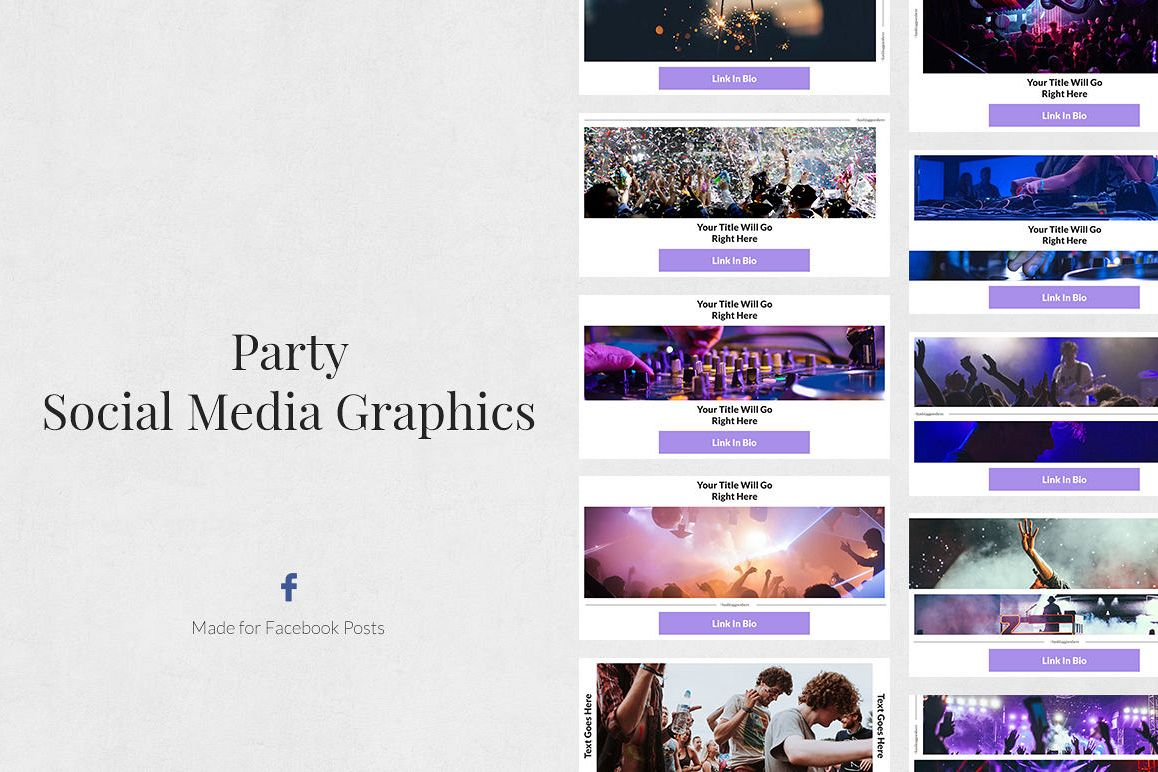 Party Facebook Posts example image 1