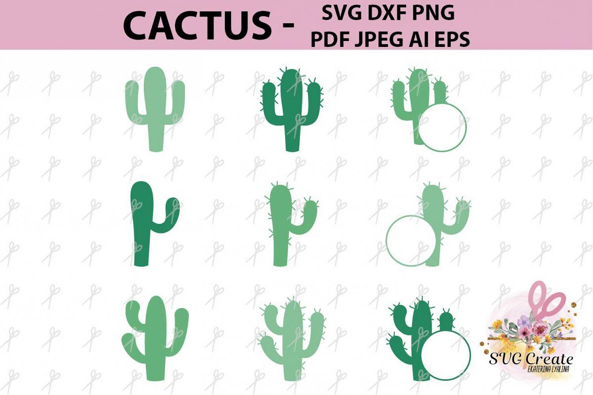 image regarding Cactus Printable named Cactus print printable, cactus clipart, summer months svg, vector