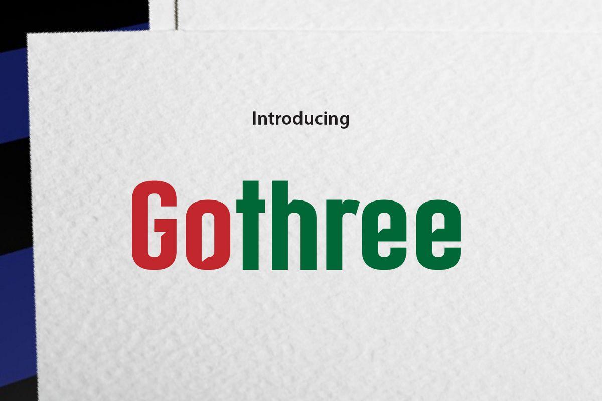 Gothree example image 1