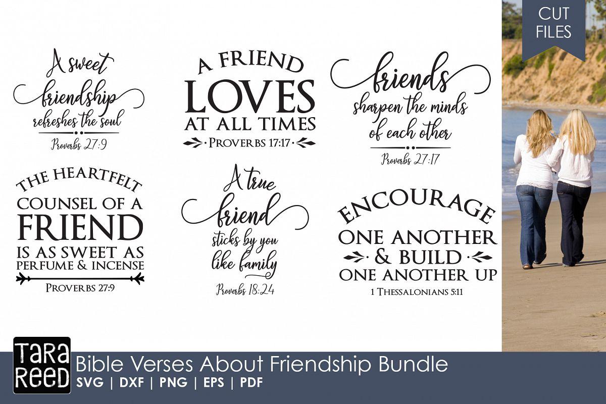 Bible Verses about Friendship Bundle example image 1
