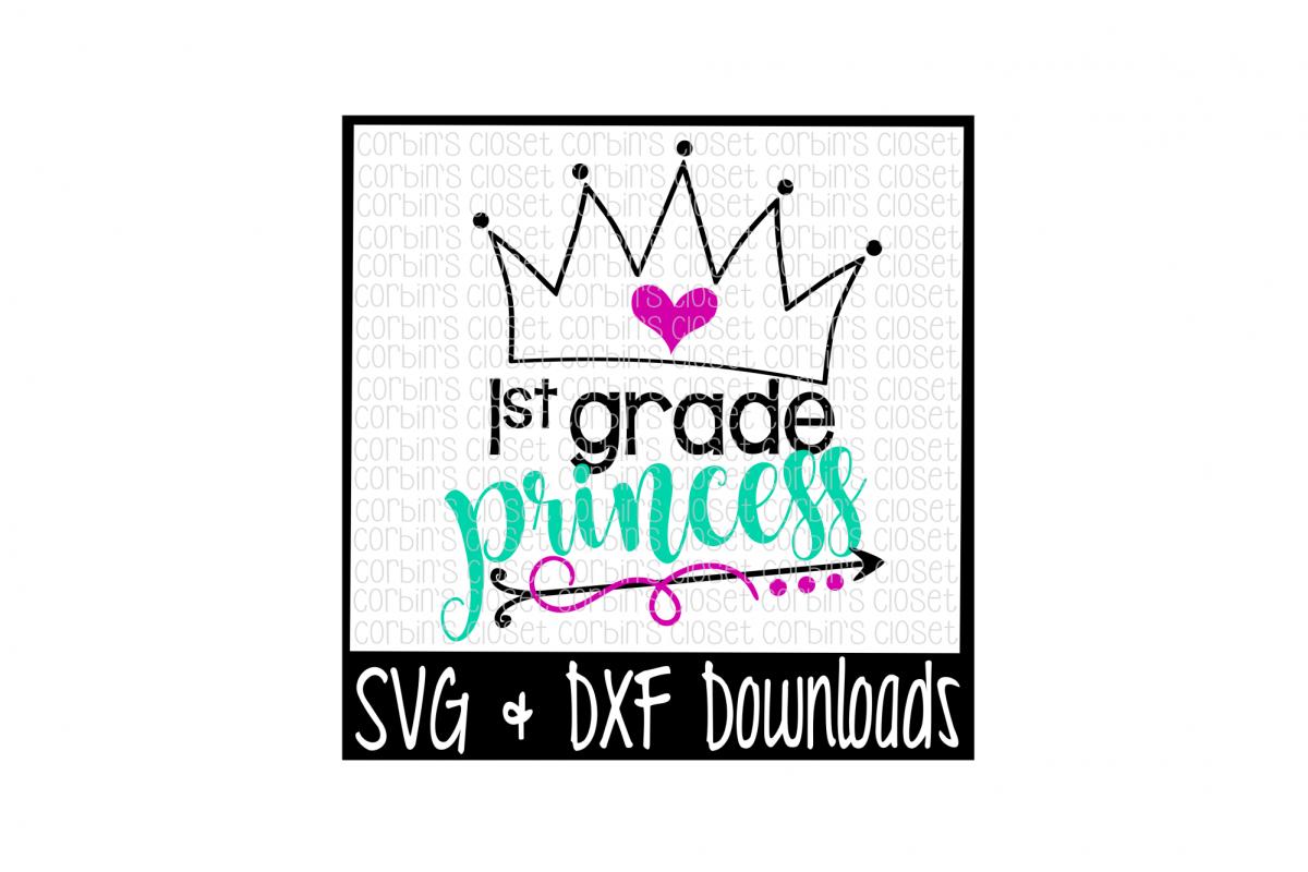 1st Grade Princess Cut File example image 1