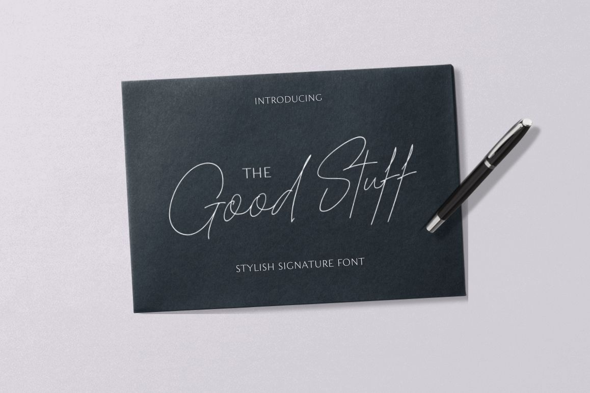 The Good Stuff Signature example image 1