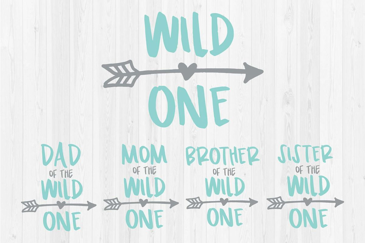 1c65b130 Wild One - Mom, Dad, Brother, Sister of the Wild One example image