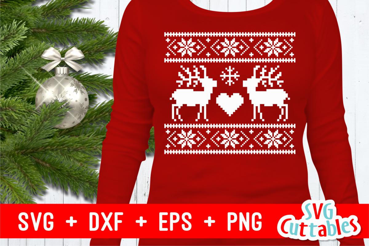 reindeer christmas sweater example image 1 - Reindeer Christmas Sweater