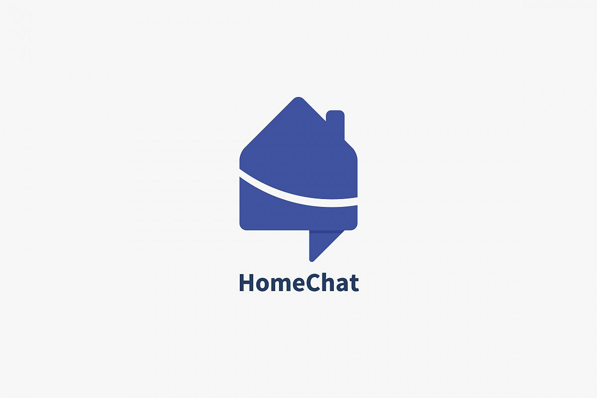 Home Chat Logo Template example image 1