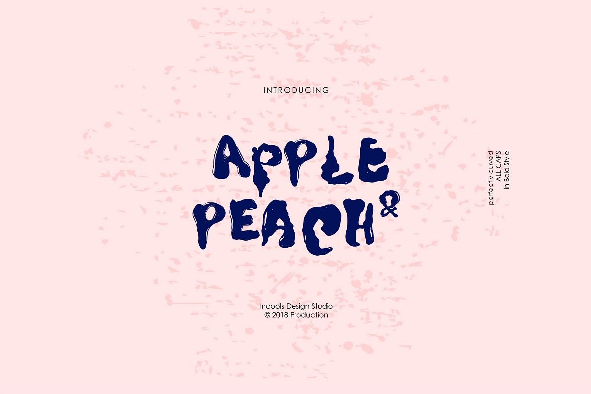 Apple and Peach - Bold example image 1