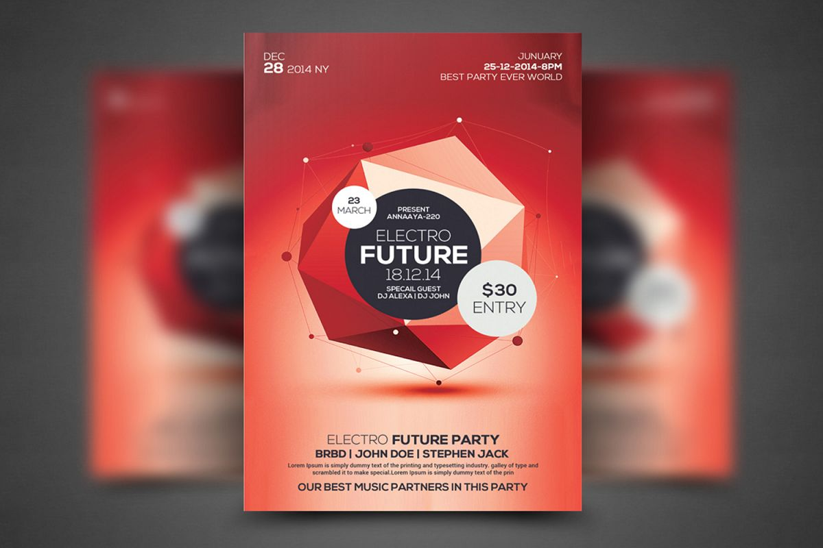 Future Flyer Template example image 1