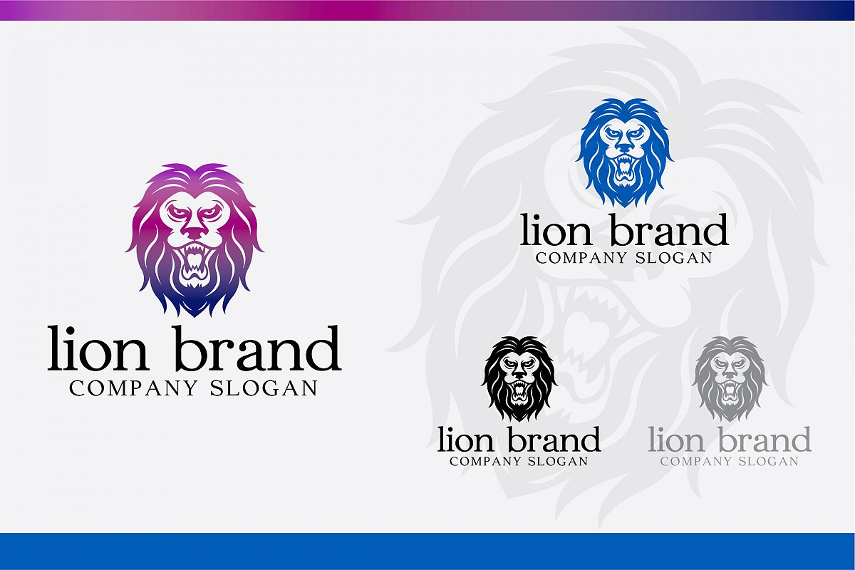 Lion Brand Logo example image 1