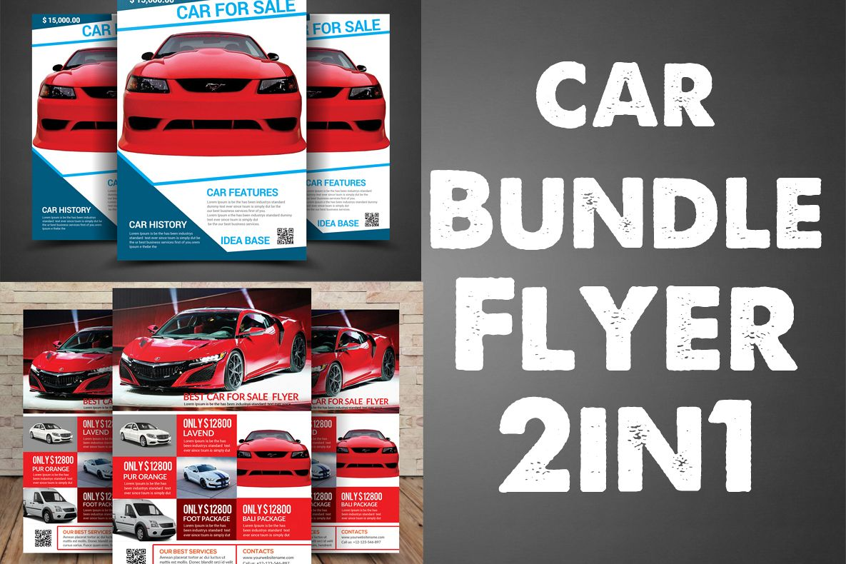Car Bundle Folder 2in1 example image 1