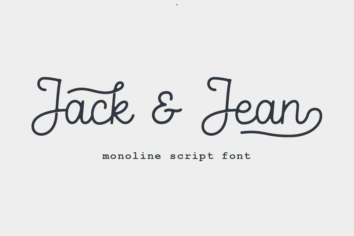 Jack & Jean Script example image 1