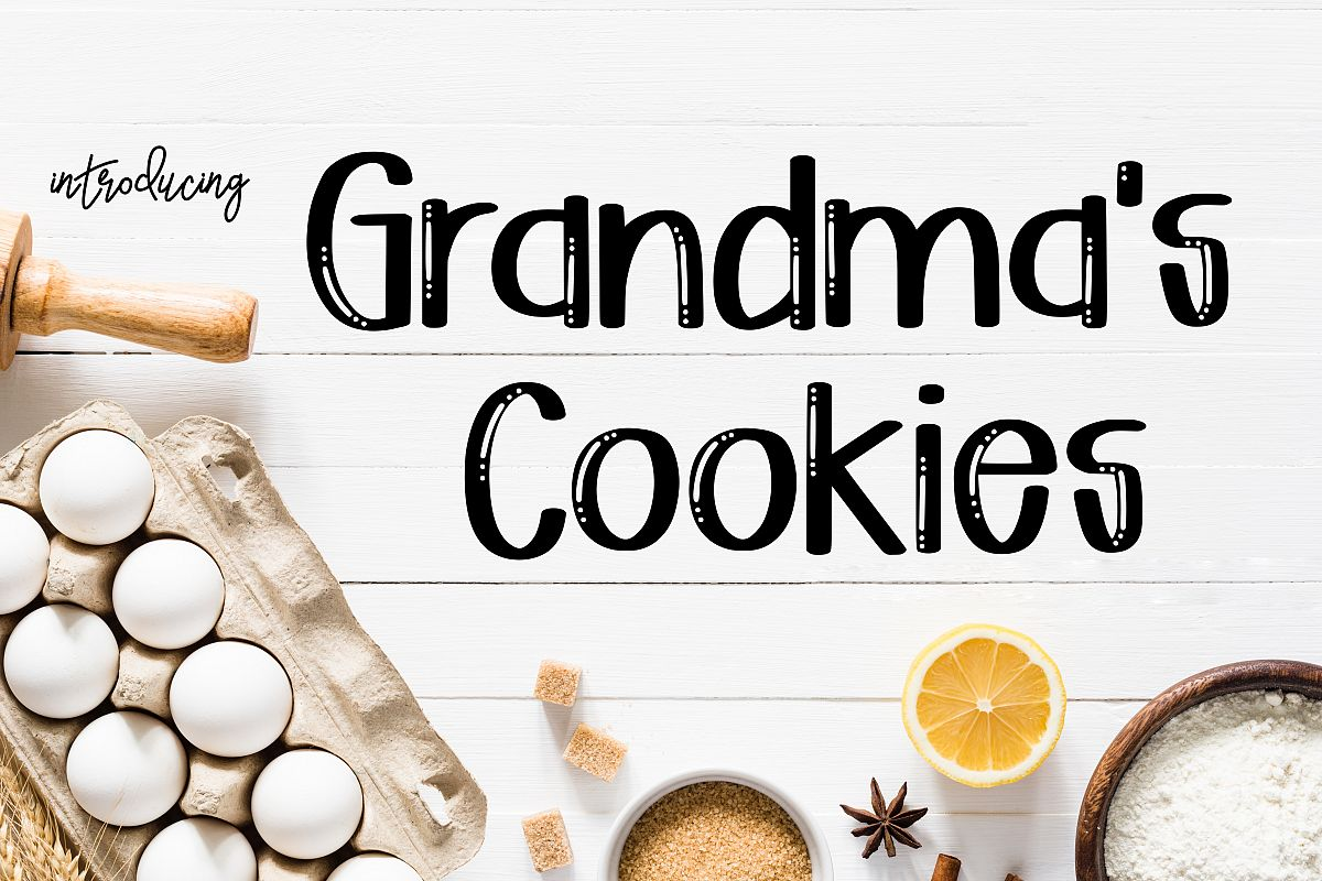 Grandma's Cookies example image 1