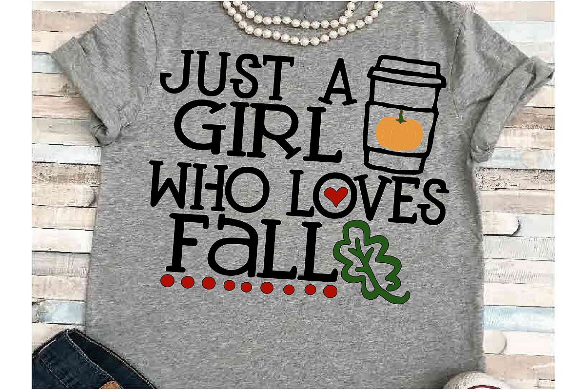 Pumpkin svg DXF JPEG Silhouette Cameo Cricut girl loves fall example image 1