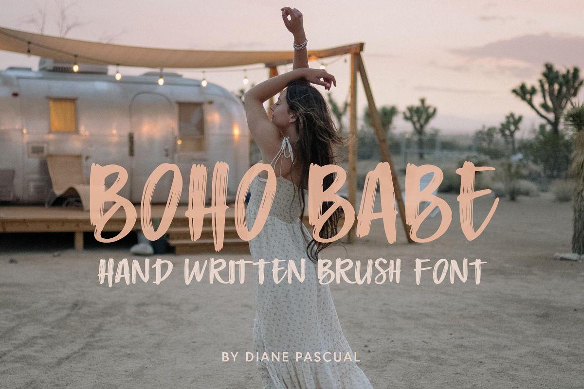 Boho Babe Font example image 1