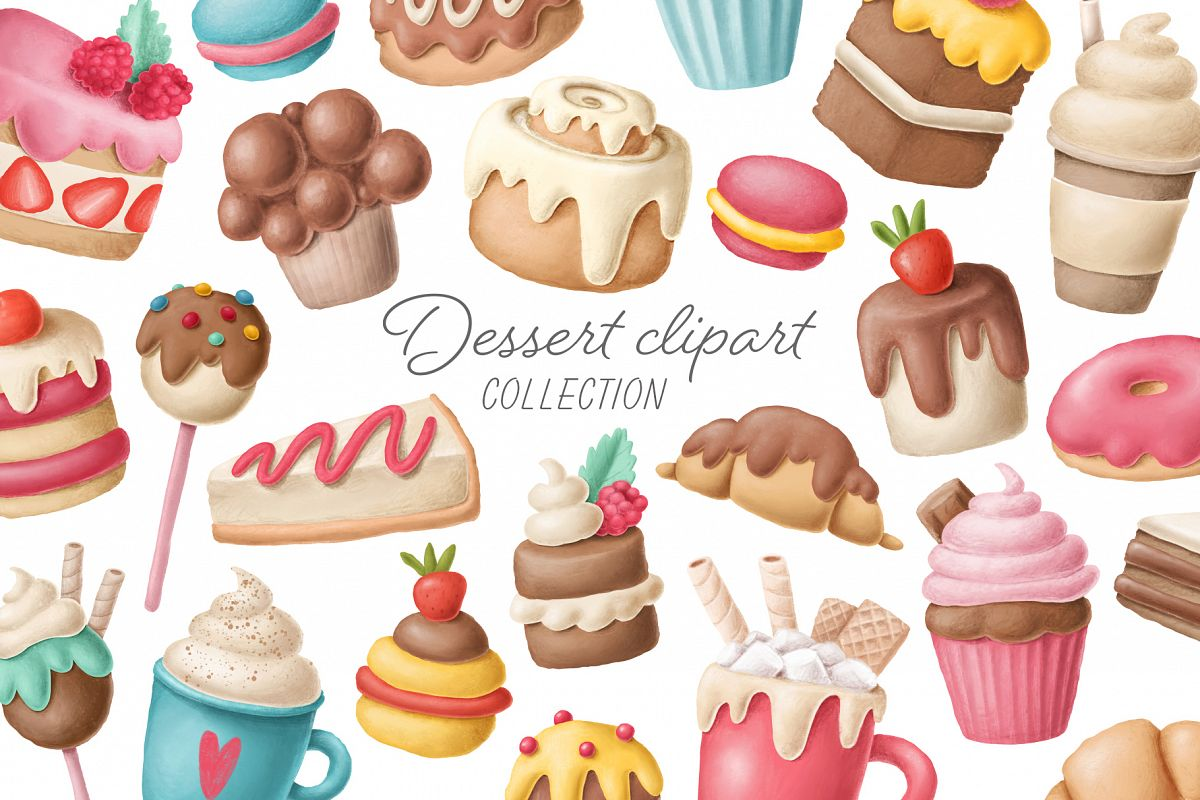 Dessert clipart collection example image 1
