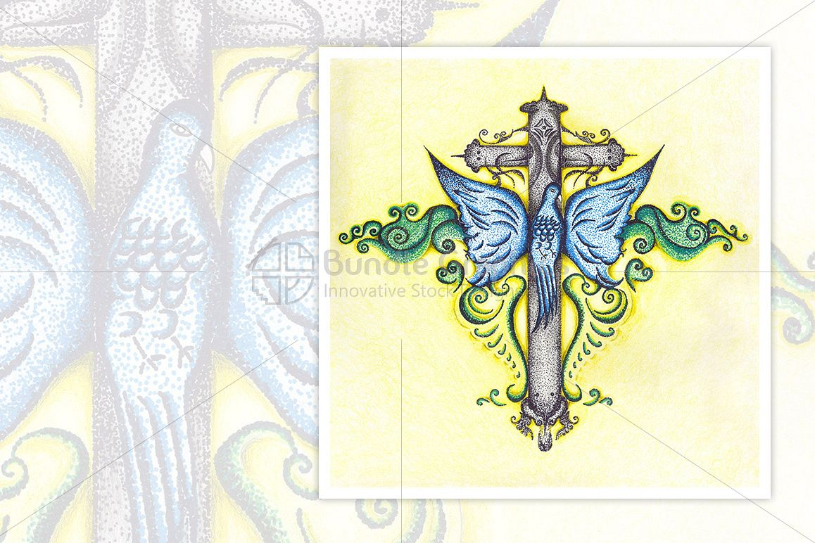 Holy Cross - Illustrative Art example image 1