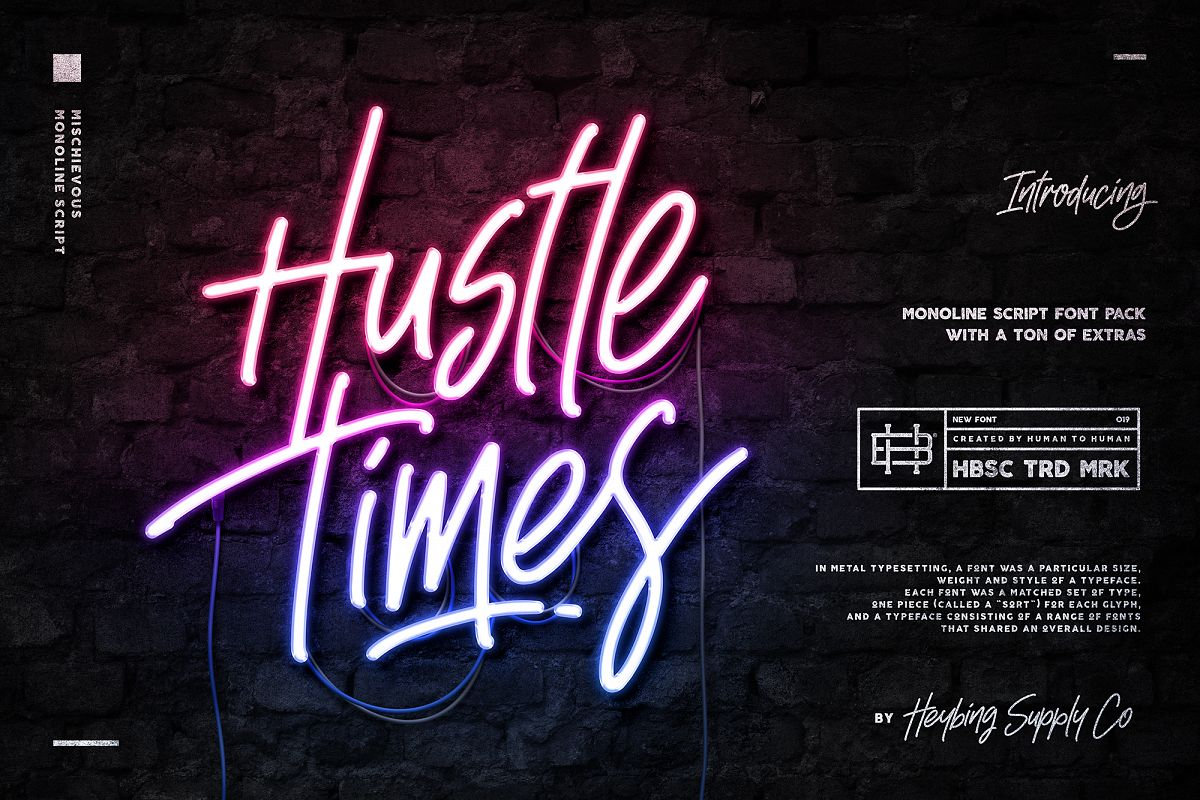 Hustle Times & Extras example image 1