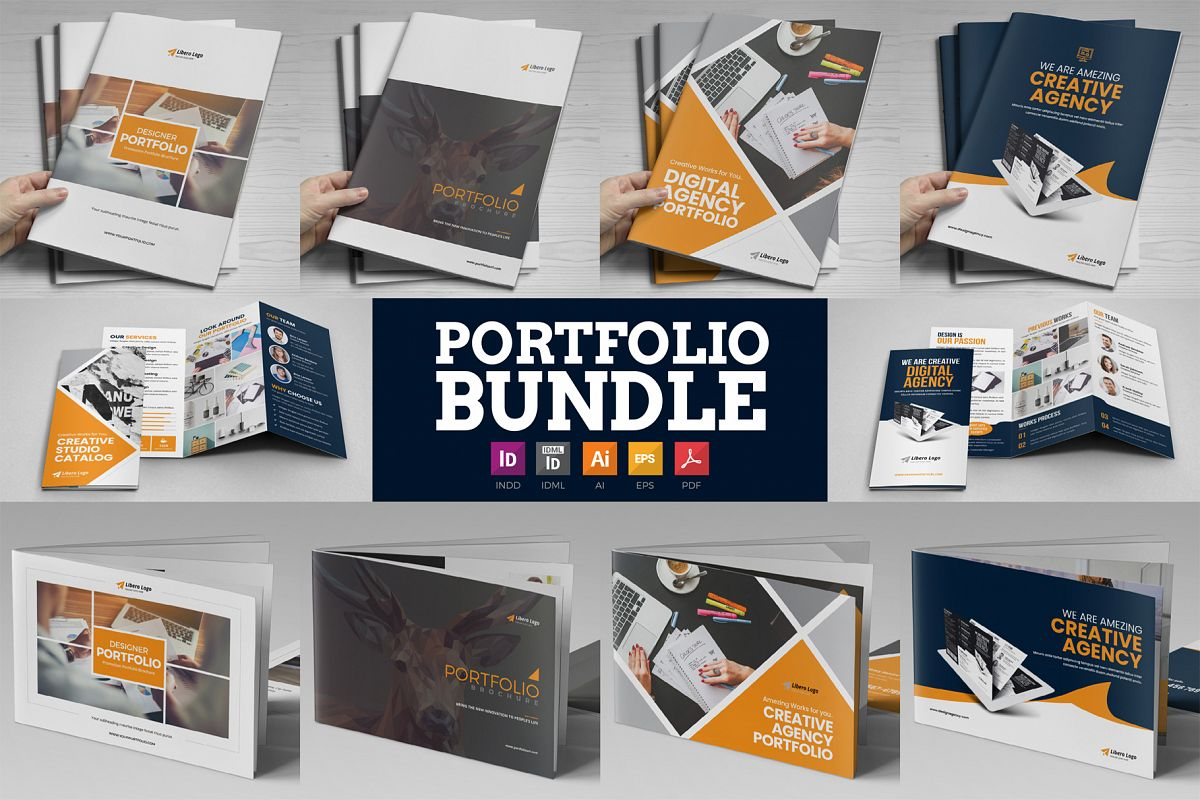 Portfolio Brochure Bundle example image 1