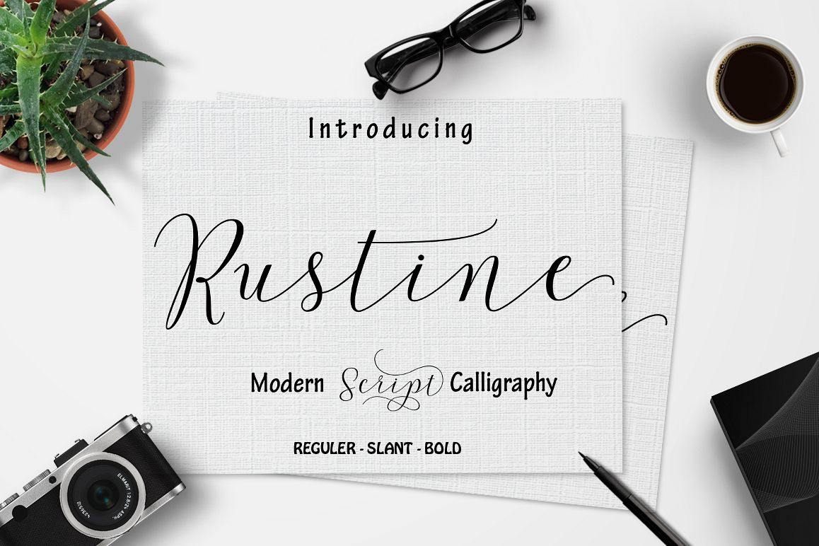 Rustine Script off 20  example image 1