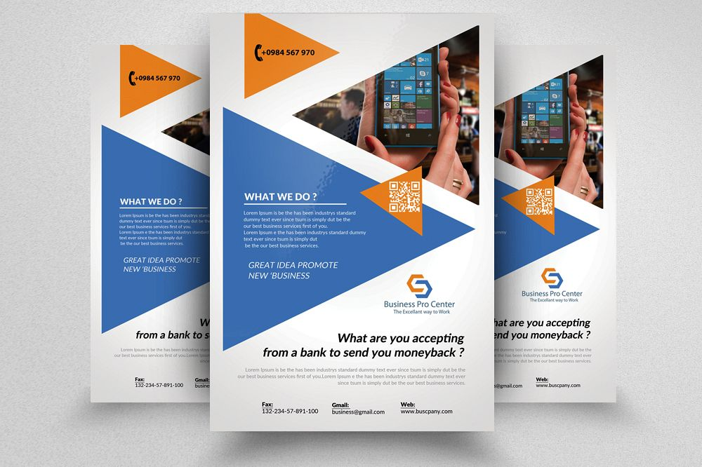 Insurance Consulting Flyer Template By Design Bundles - Insurance brochure template